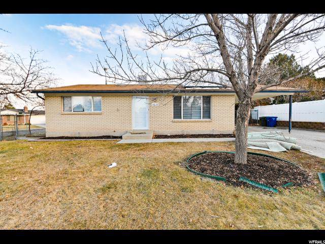 4629 S Woodgrove Dr W, West Valley City, UT 84120 (#1650293) :: Exit Realty Success