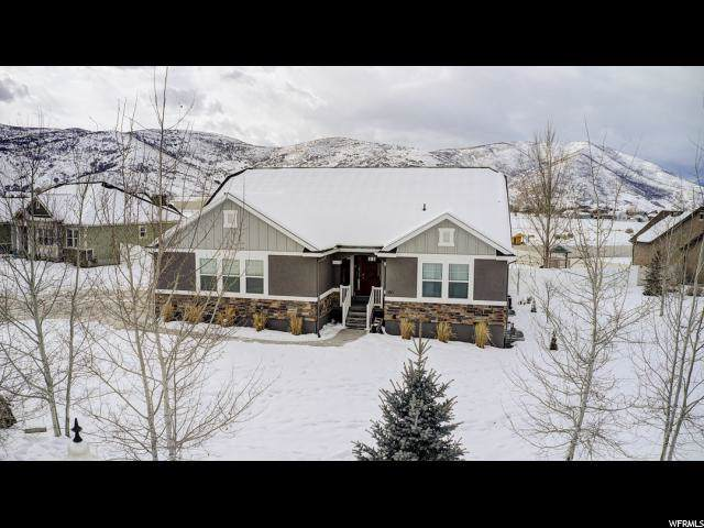 180 E Huckleberry Ln, Heber City, UT 84032 (#1650392) :: Bustos Real Estate | Keller Williams Utah Realtors