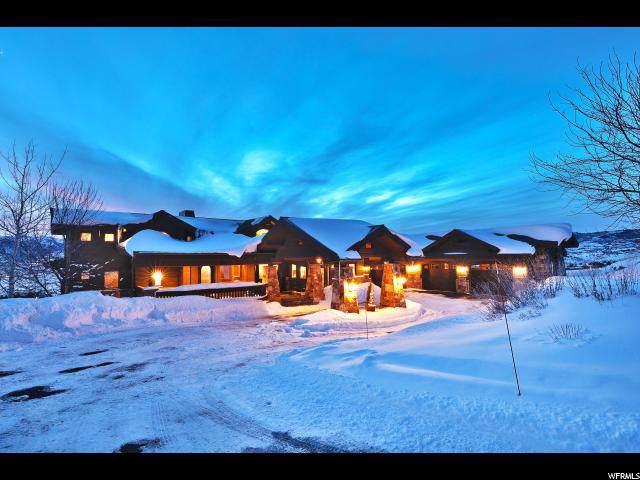8050 N West Hills Trl, Park City, UT 84098 (#1650426) :: Red Sign Team