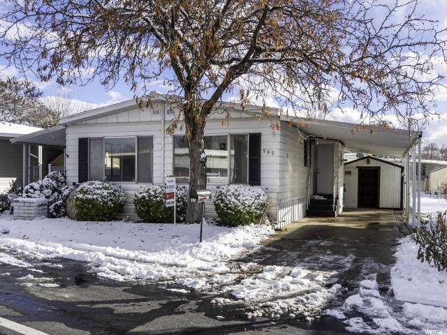 985 W Foxglove #249, Taylorsville, UT 84123 (#1650474) :: Exit Realty Success