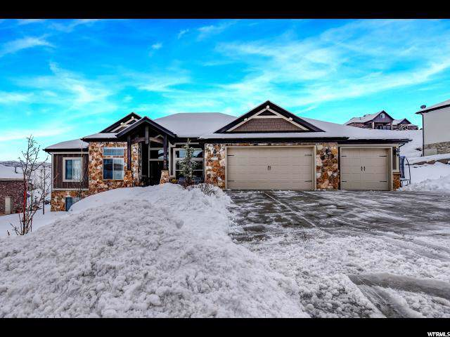 5960 N Hidden Hills Dr, Mountain Green, UT 84050 (#1650656) :: Red Sign Team