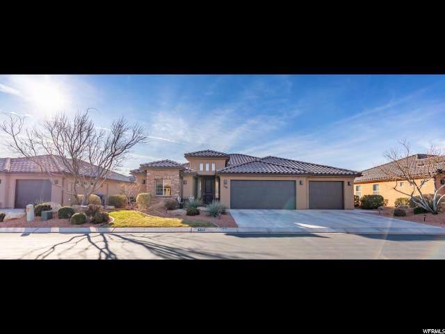 348 E Desert Rose Way, Ivins, UT 84738 (#1650658) :: Bustos Real Estate | Keller Williams Utah Realtors