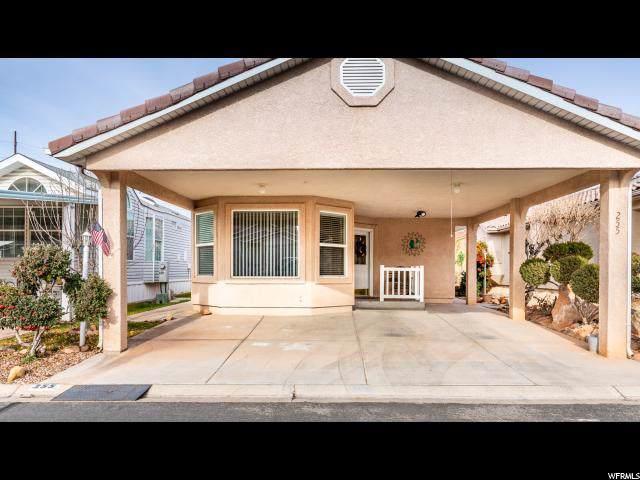 2990 E Riverside Dr #255, St. George, UT 84790 (#1651010) :: Big Key Real Estate