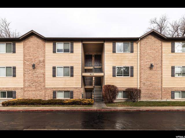 877 E Cedar Pine Ct #20, Salt Lake City, UT 84106 (#1651197) :: Big Key Real Estate