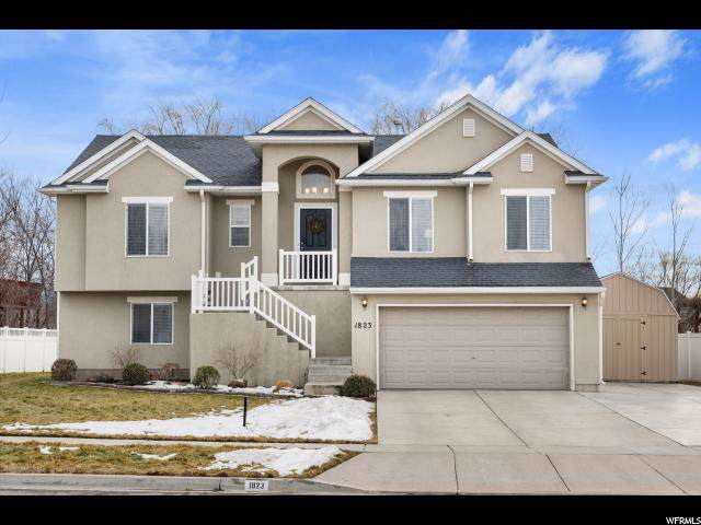 1823 W Frontier Cir, Farmington, UT 84025 (#1651360) :: Red Sign Team
