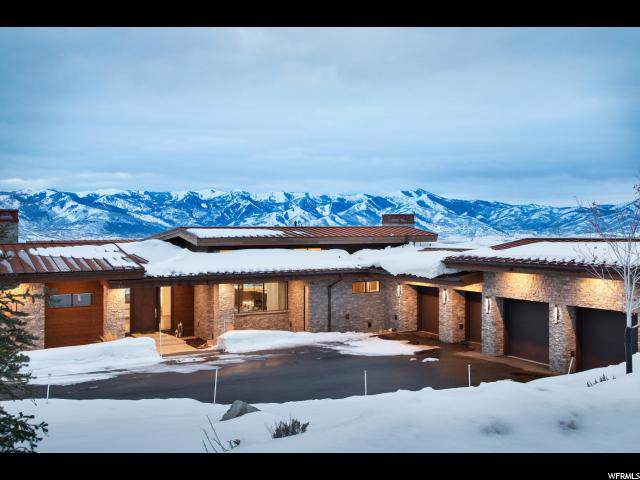 2888 Blue Sage Trl, Park City, UT 84098 (#1651531) :: Big Key Real Estate