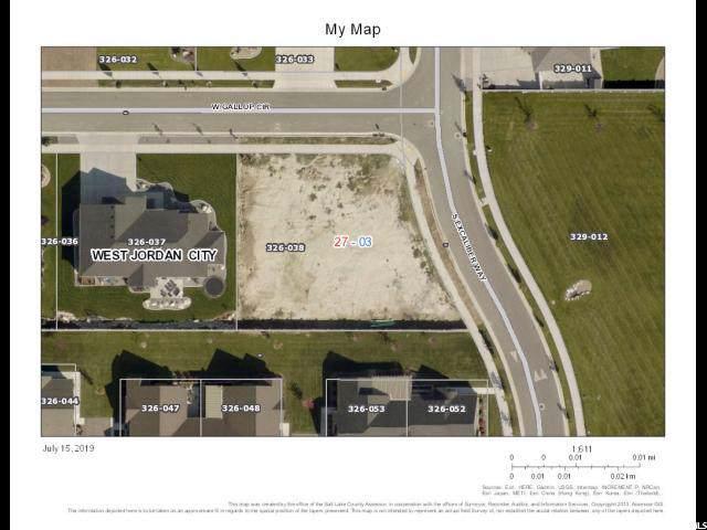 1857 W Gallop Cir, West Jordan, UT 84088 (#1651618) :: Utah City Living Real Estate Group