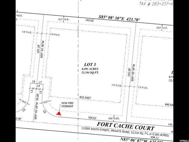 833 E Fort Cache Ct, Draper, UT 84020 (#1651809) :: goBE Realty