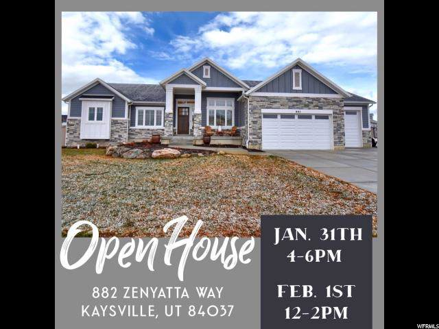 882 W Zenyatta Way, Kaysville, UT 84037 (#1652013) :: Exit Realty Success