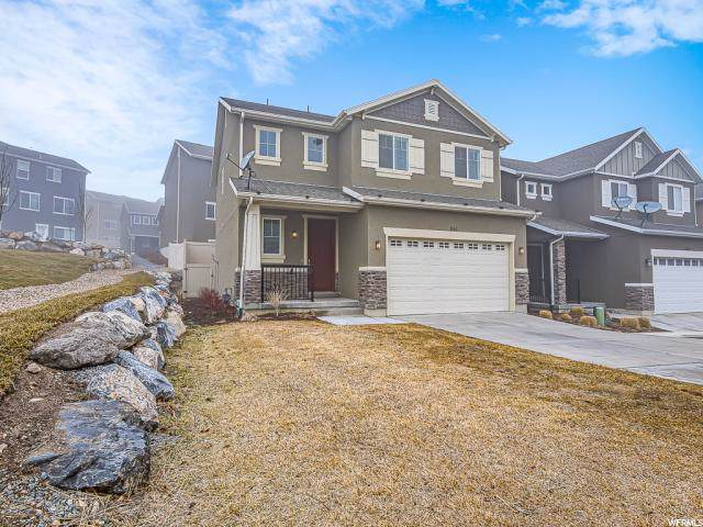 261 W Willow Creek Dr, Saratoga Springs, UT 84045 (#1652111) :: goBE Realty