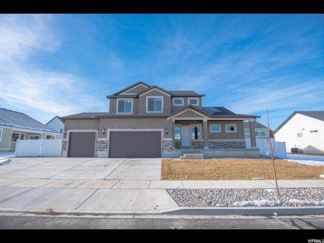 619 S Crooked Post Way, Saratoga Springs, UT 84045 (#1652283) :: Red Sign Team