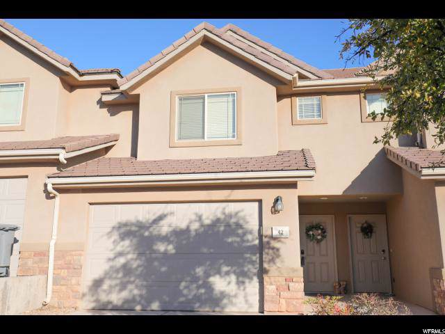 1000 E Bluff View Dr #42, Washington, UT 84780 (#1652304) :: Big Key Real Estate
