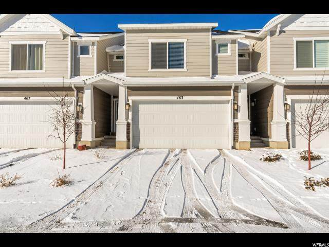 463 S Fox Chase Ln, Saratoga Springs, UT 84045 (#1653378) :: Red Sign Team