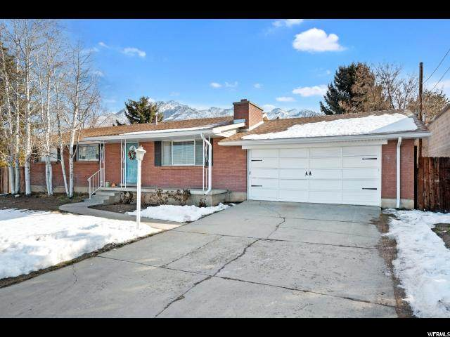 6851 S 2300 E, Cottonwood Heights, UT 84121 (#1654385) :: Red Sign Team