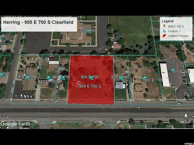 905 E 700 S, Clearfield, UT 84015 (#1654447) :: Doxey Real Estate Group