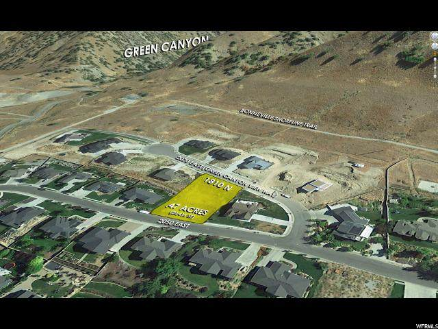 1810 N Green Canyon Vw, North Logan, UT 84341 (#1654711) :: Colemere Realty Associates