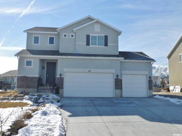 69 E Wildcat Ln S, Saratoga Springs, UT 84045 (#1654727) :: Big Key Real Estate
