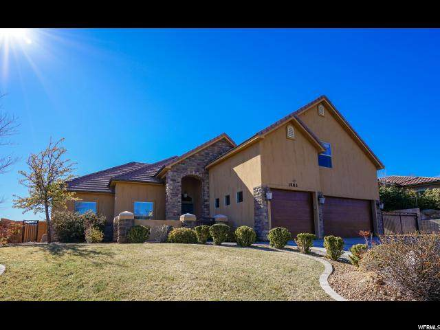 1983 Pikes Dr, St. George, UT 84770 (#1654846) :: Doxey Real Estate Group