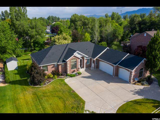 732 W Old Mill Ln N, Kaysville, UT 84037 (#1655075) :: Colemere Realty Associates