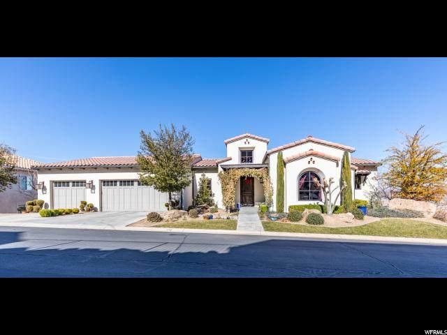 170 W Mojave Heights Dr, St. George, UT 84770 (#1655141) :: Bustos Real Estate | Keller Williams Utah Realtors