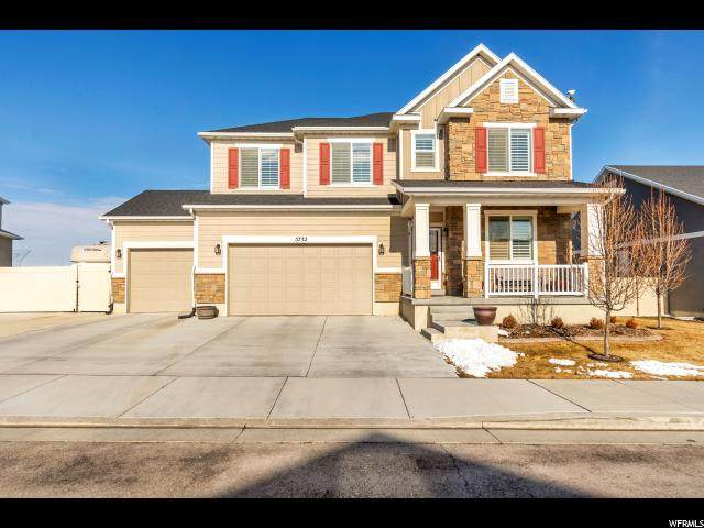 5732 W Yukon River Ln S, Herriman, UT 84096 (#1655941) :: Action Team Realty