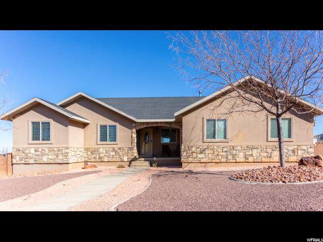 1023 E Nichols Canyon Rd, Cedar City, UT 84721 (#1655968) :: The Fields Team