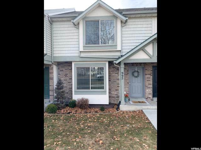 995 N Independence Ave W, Provo, UT 84604 (#1655971) :: Bustos Real Estate | Keller Williams Utah Realtors