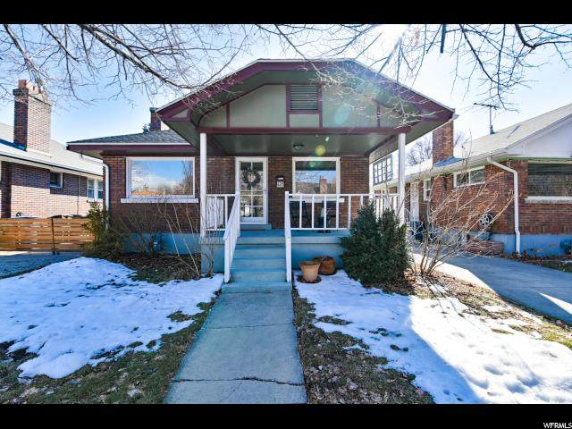 254 E Williams Ave, Salt Lake City, UT 84111 (#1656002) :: Big Key Real Estate