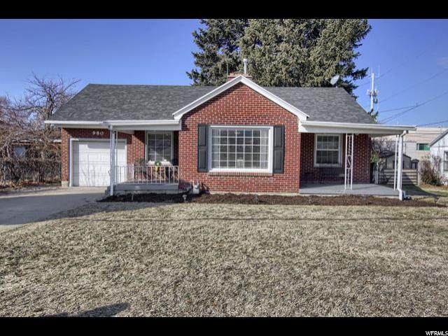 980 S 100 E, Bountiful, UT 84010 (#1656138) :: goBE Realty