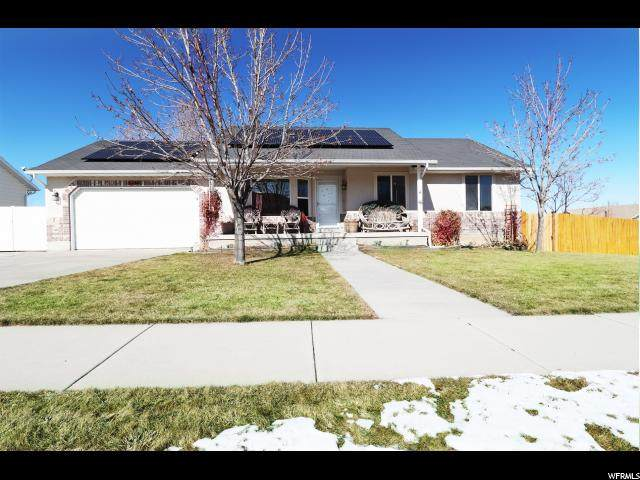 5154 W Butterfield Peak Cir, Riverton, UT 84096 (#1656219) :: Action Team Realty