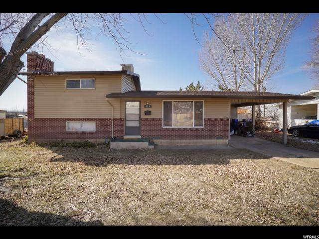 418 N Vickie Ln W, Clearfield, UT 84015 (#1656339) :: The Canovo Group