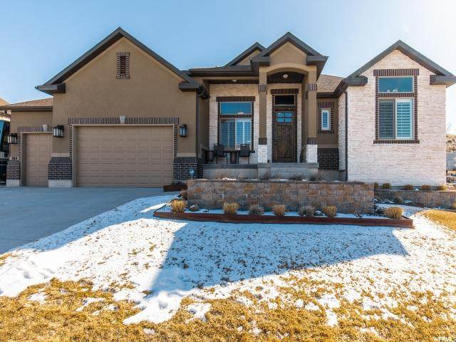 384 E Fairmont Hill Ct S, Draper, UT 84020 (#1656355) :: Bustos Real Estate | Keller Williams Utah Realtors