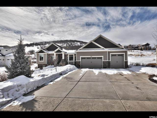 324 E Saddle Dr N, Midway, UT 84049 (#1656455) :: The Fields Team