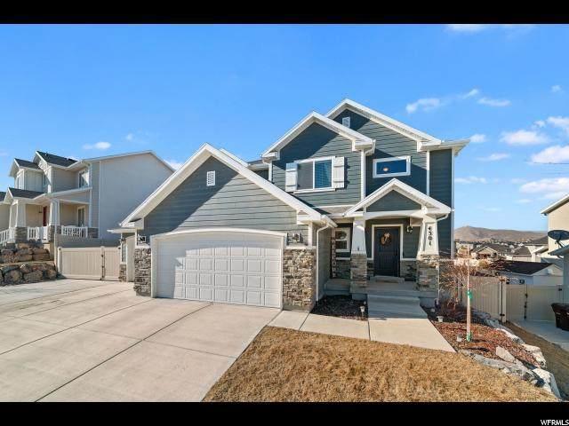 4301 N Evans Ranch Dr, Eagle Mountain, UT 84005 (#1656481) :: Big Key Real Estate