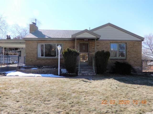 1445 Douglas St, Ogden, UT 84404 (#1656644) :: goBE Realty