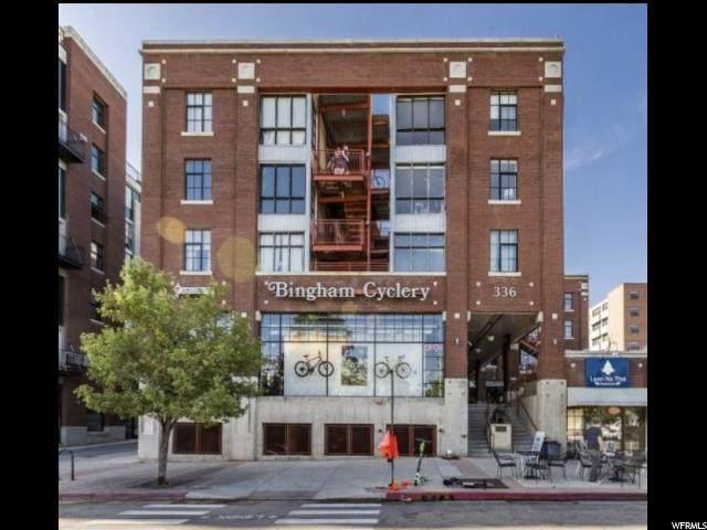 336 W 300 S #315, Salt Lake City, UT 84101 (#1656826) :: RE/MAX Equity