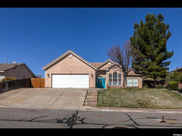 2883 E Overlook Dr, St. George, UT 84790 (#1656837) :: Red Sign Team