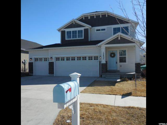 14837 S Chimney Pass Dr W, Bluffdale, UT 84065 (#1656951) :: Red Sign Team