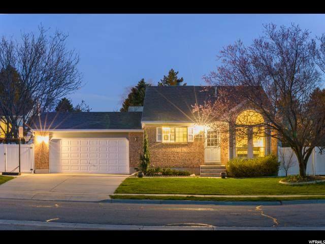 1450 Valley Ridge Dr, Sandy, UT 84093 (#1657020) :: Utah City Living Real Estate Group