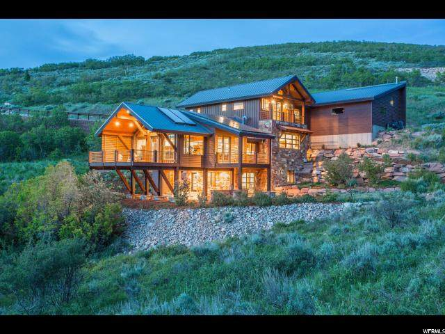 1315 Mellow Mountain Rd, Park City, UT 84060 (#1657116) :: Doxey Real Estate Group