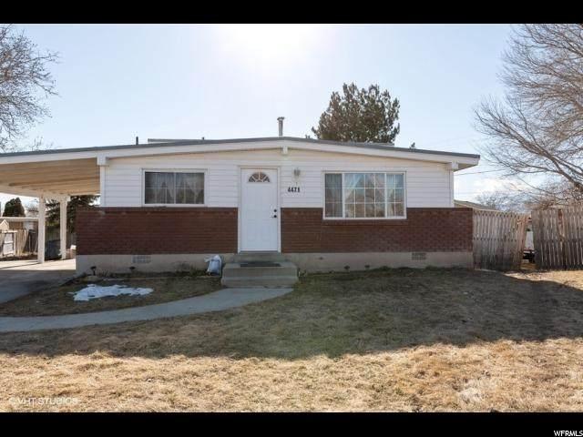4471 W Acord Cir, West Valley City, UT 84120 (#1657271) :: Bustos Real Estate   Keller Williams Utah Realtors