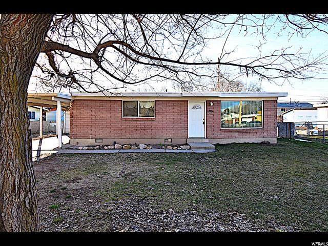 2836 S 3095 W, West Valley City, UT 84119 (#1657337) :: Bustos Real Estate   Keller Williams Utah Realtors