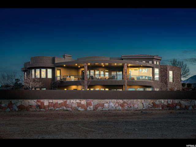 2201 W Silver Cloud Dr, St. George, UT 84770 (#1657387) :: Utah Best Real Estate Team | Century 21 Everest