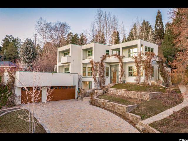 1611 E Federal Heights Dr, Salt Lake City, UT 84103 (#1657593) :: Colemere Realty Associates