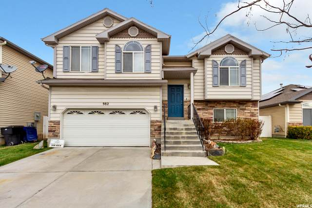 982 W Stonehenge Dr N, North Salt Lake, UT 84054 (MLS #1659997) :: Lookout Real Estate Group