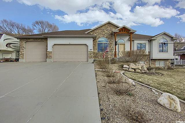 3825 Willow Creek Rd, Mountain Green, UT 84050 (#1661276) :: REALTY ONE GROUP ARETE