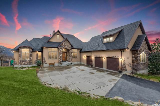 5055 Waterfall Dr, Pleasant View, UT 84414 (#1661964) :: REALTY ONE GROUP ARETE