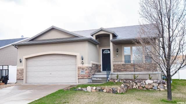 5872 S Mount Flora Cir W, Salt Lake City, UT 84118 (#1663951) :: Bustos Real Estate | Keller Williams Utah Realtors