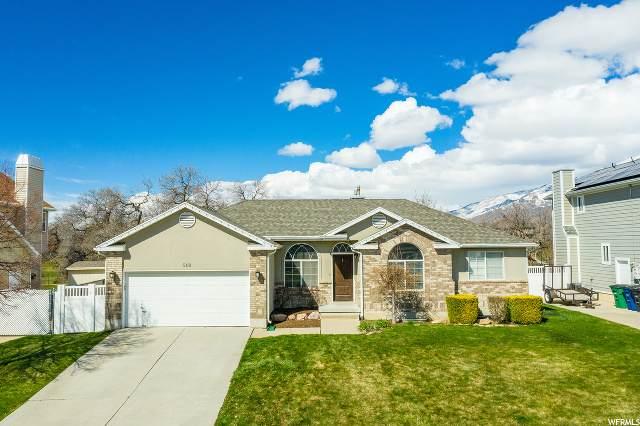 549 E 1150 S, Kaysville, UT 84037 (#1664089) :: Big Key Real Estate