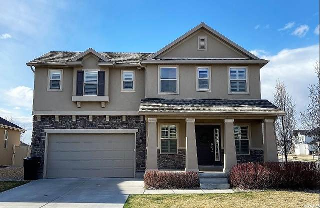 867 W Saddlebrook Dr, Kaysville, UT 84037 (#1664345) :: Doxey Real Estate Group